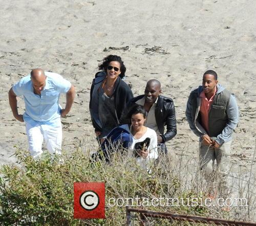 Vin Diesel, Tyrese Gibson, Michelle Rodriguez and Ludacris 4