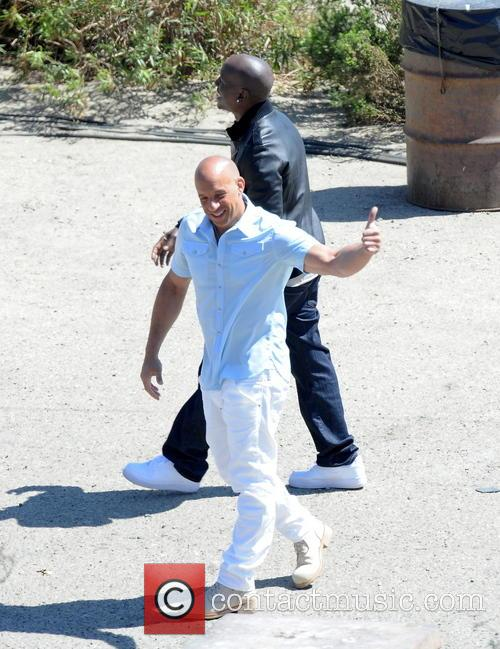 Vin Diesel and Tyrese Gibson 7