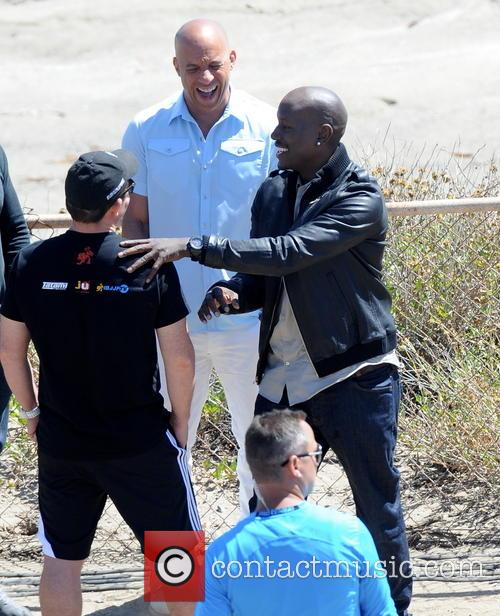 Vin Diesel and Tyrese Gibson 8