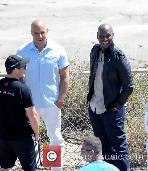 Vin Diesel and Tyrese Gibson 9