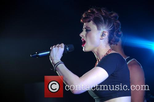 Kiesza performing at Kasbah in Coventry