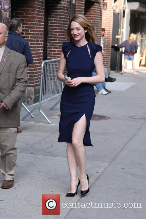 Celebrities at The Late Show with David Letterman