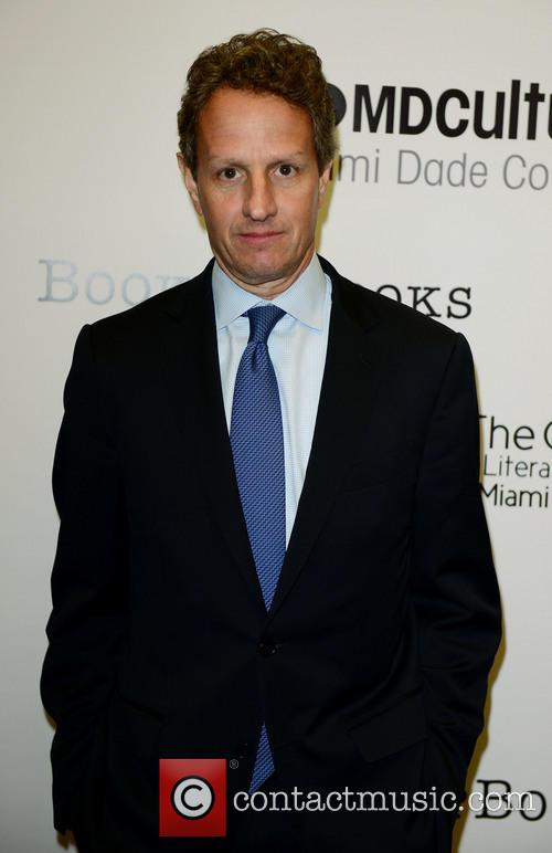 Timothy Geithner promotes his new book