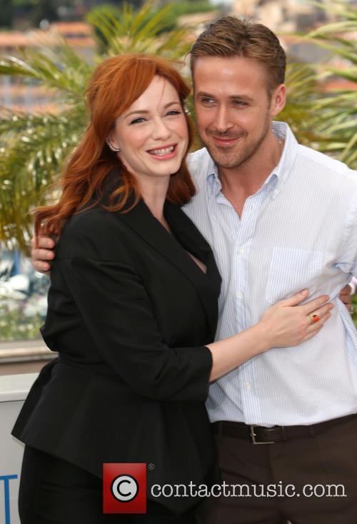 Ryan Gosling Cannes Christina Hendricks