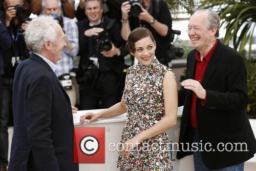 Jean-pierre Dardenne, Luc Dardenne and Marion Cotillard 4