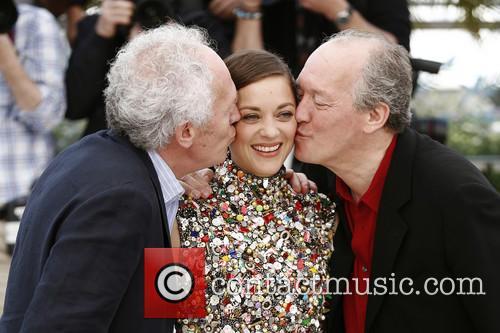 Jean-pierre Dardenne, Luc Dardenne and Marion Cotillard 7