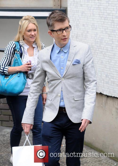Gareth Malone pictured at the ITV Studios