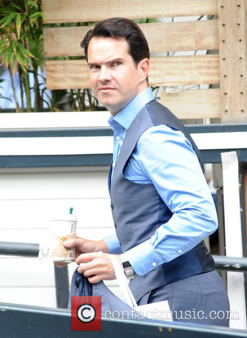 Jimmy Carr pictured at the ITV Studios
