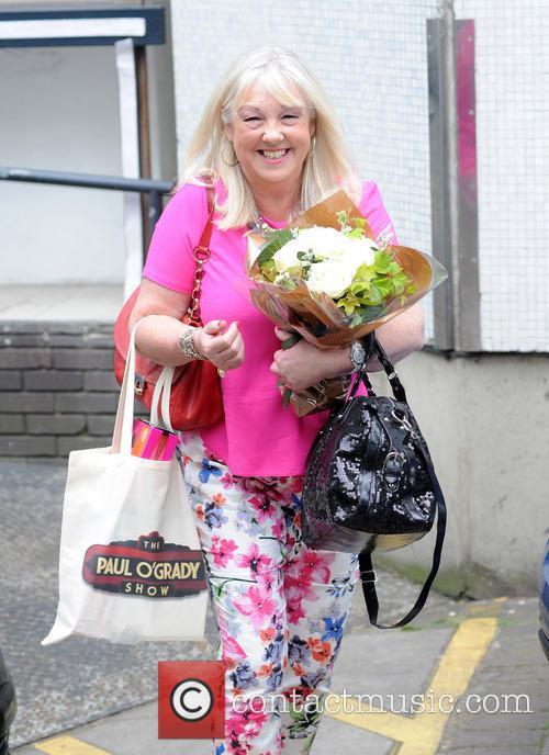 Liz Kershaw pictured at the ITV Studios