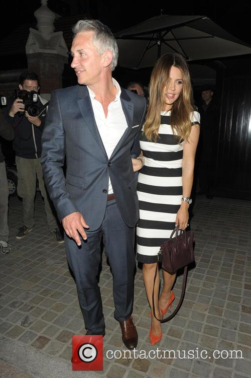 Gary Lineker, Danielle Lineker, Jackie St Clair and...