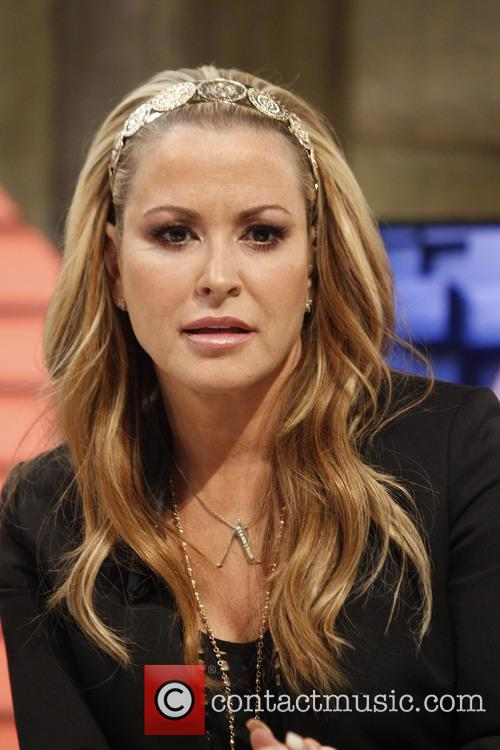 Singer Anastacia appears on Spanish television show 'El...