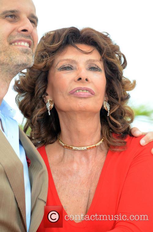 Sophia Loren and Edoardo Ponti