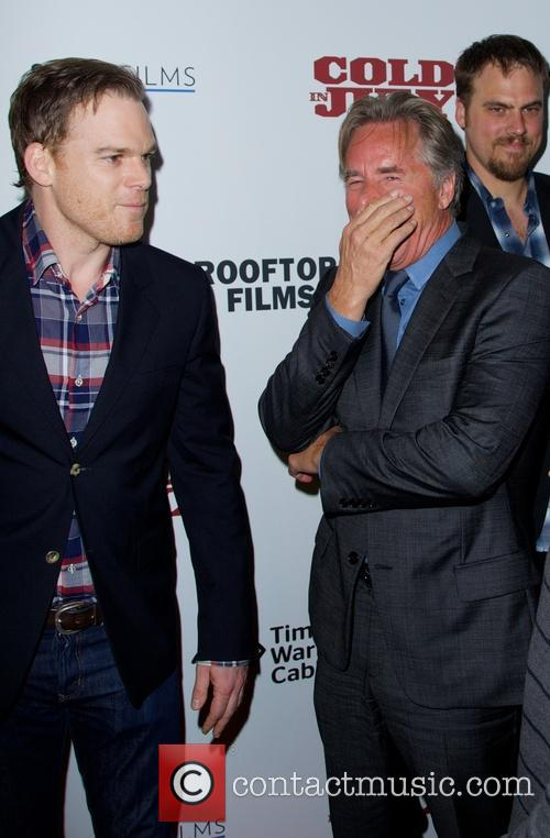 Michael C. Hall and Don Johnson 4