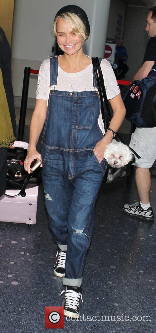 Kristin Chenoweth At LAX
