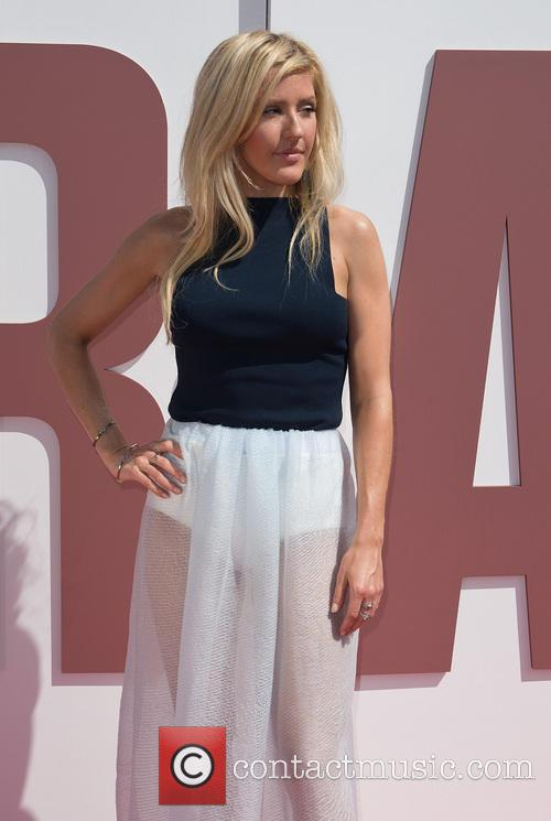 Ellie Goulding at the British Designers Collective Launch...