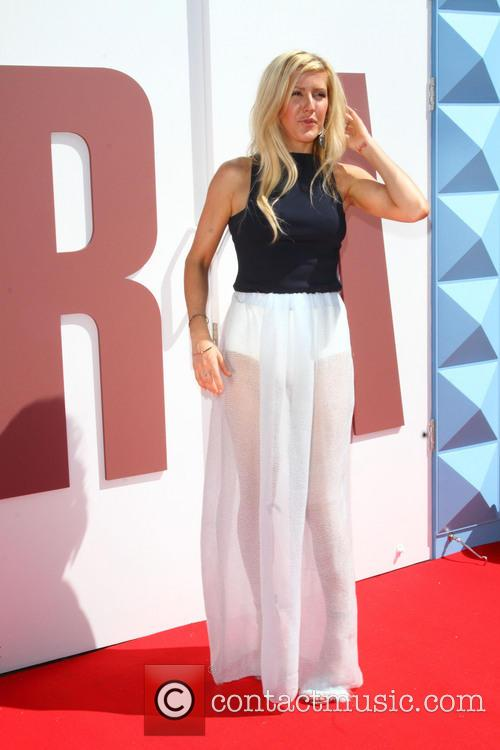 Ellie Goulding at British Designers Collective