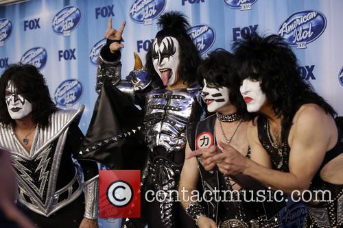 Tommy Thayer, Gene Simmons, Eric Singer, Paul Stanley and Kiss 1