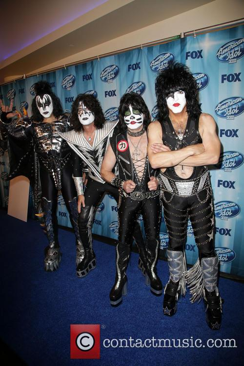 Tommy Thayer, Gene Simmons, Eric Singer, Paul Stanley and Kiss 3
