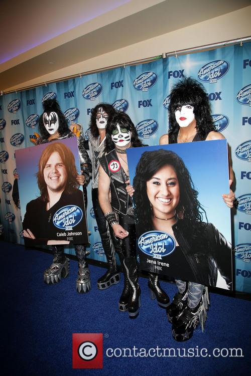 Tommy Thayer, Gene Simmons, Eric Singer, Paul Stanley and Kiss 4