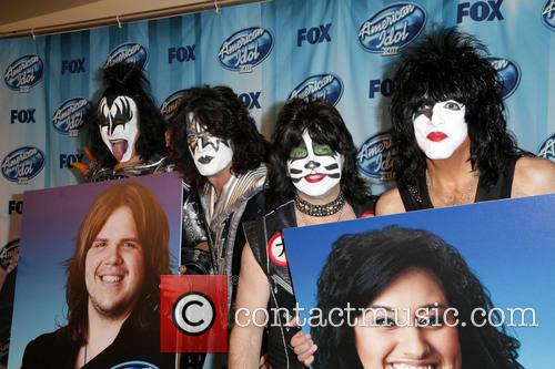 Kiss, Gene Simmons, Eric Singer, Paul Stanley and Tommy Thayer 5