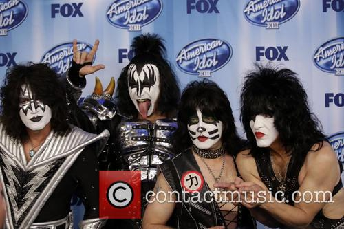 Tommy Thayer, Gene Simmons, Eric Singer, Paul Stanley and Kiss 6