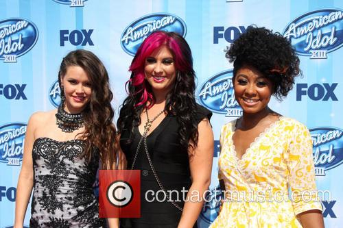 American Idol, Kristen O'Connor, Jessica Meuse, Majesty Rose, Nokia Theater at LA Live