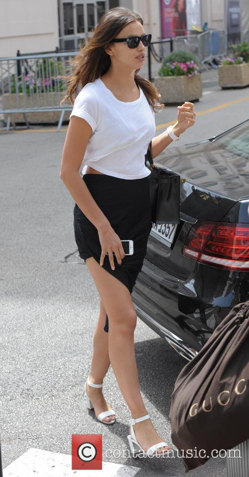 Irina Shayk out and about in Cannes