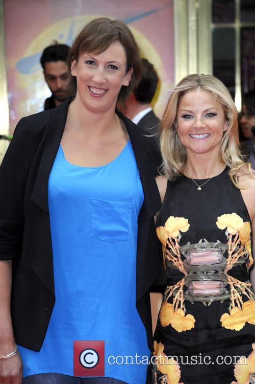 Miranda Hart and Sarah Hadland 2
