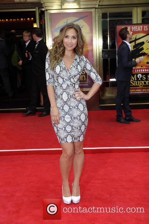 myleene klass miss saigon press night 4207828