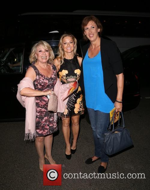 Elaine Paige, Sarah Hadland and Miranda Hart 4