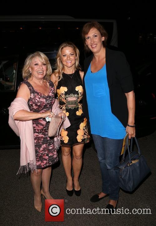 Elaine Paige, Sarah Hadland and Miranda Hart 5