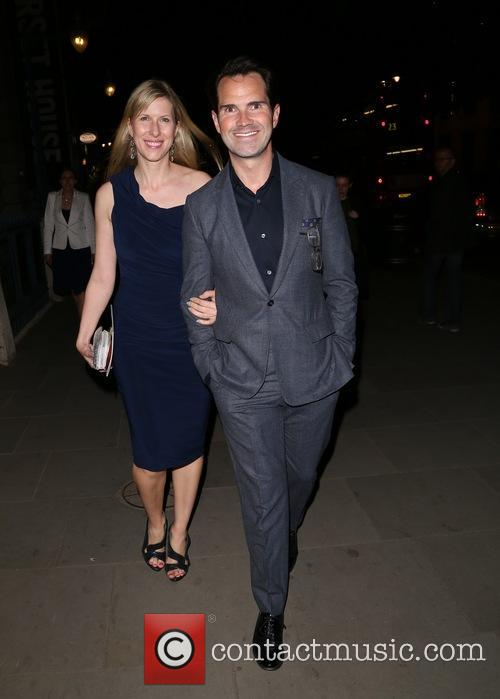 Jimmy Carr and Karoline Copping 3