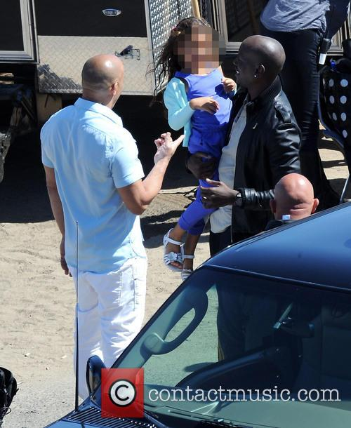 Vin Diesel, Tyrese Gibson and Hania 9