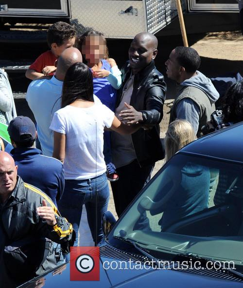Vin Diesel, Tyrese Gibson, Ludacris, Paloma Jimenez, Hania and Vincent 3