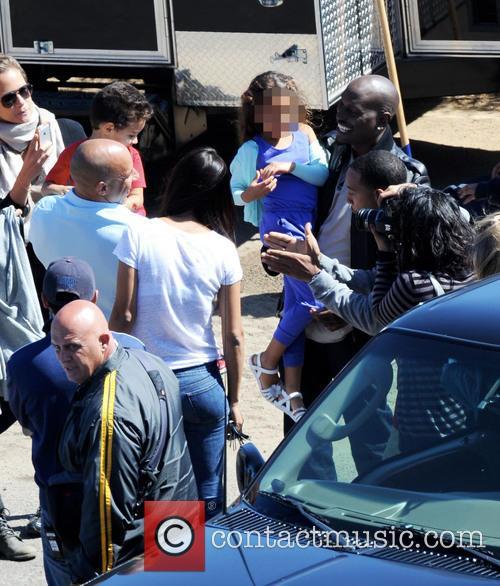 Vin Diesel, Tyrese Gibson, Ludacris, Paloma Jimenez, Hania and Vincent 5