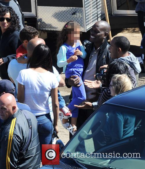 Vin Diesel, Tyrese Gibson, Ludacris, Paloma Jimenez, Hania and Vincent 6