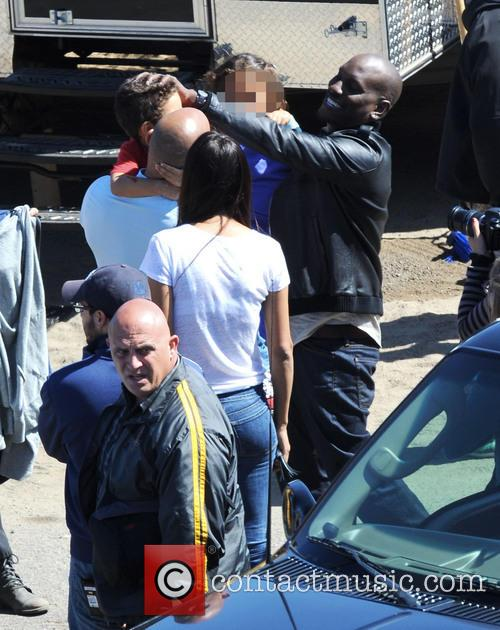 Vin Diesel, Tyrese Gibson, Paloma Jimenez, Hania and Vincent 5