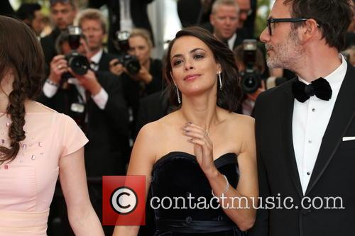 Berenice Bejo, Her Husband and Director Michel Hazanavisus 5