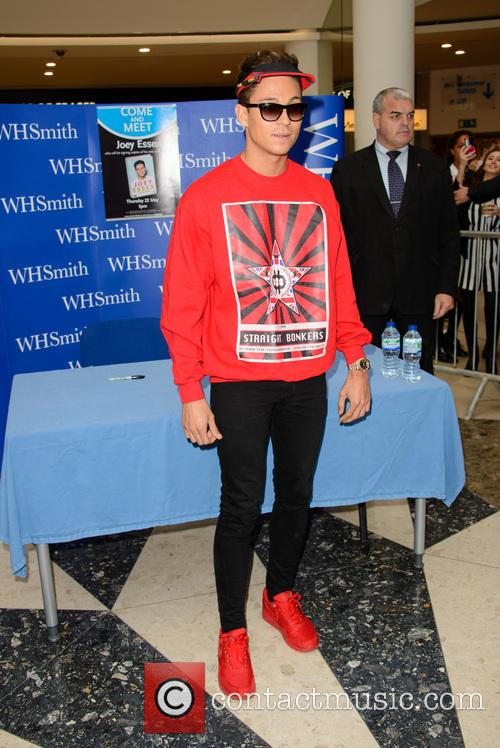 Joey Essex signs copies of his debut book...
