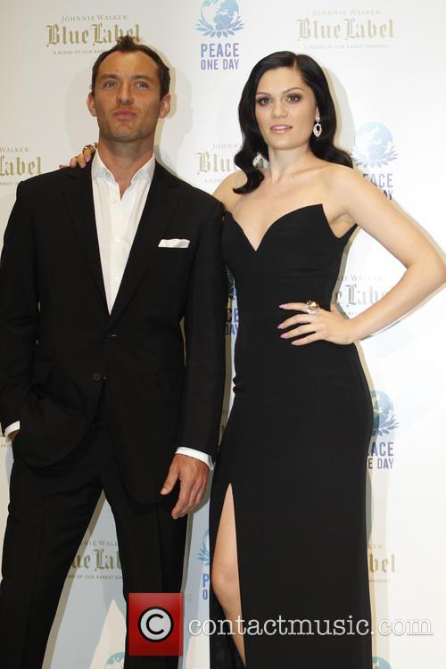 Jude Law and Jessie J 3