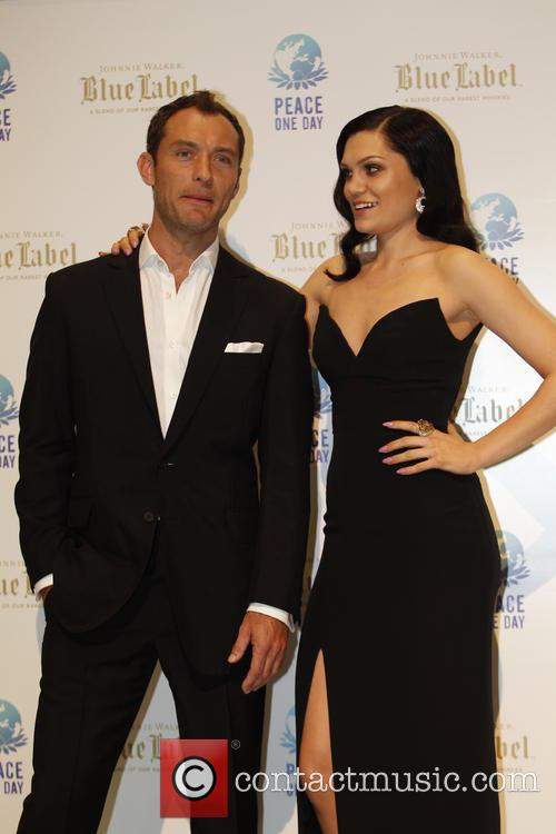 Jude Law and Jessie J 1
