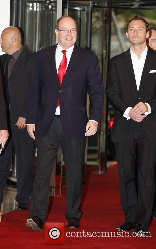 Jude Law and Prince Albert Ii Of Monaco 4