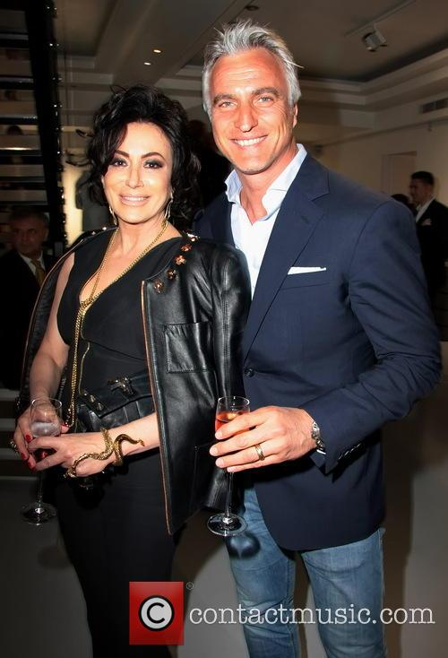 David Ginola and Nancy Dell'olio