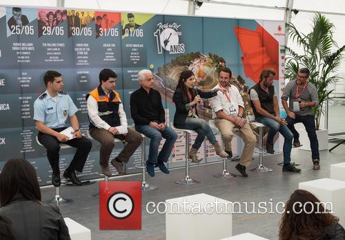 Rock In Rio 2014 press conference and presentation