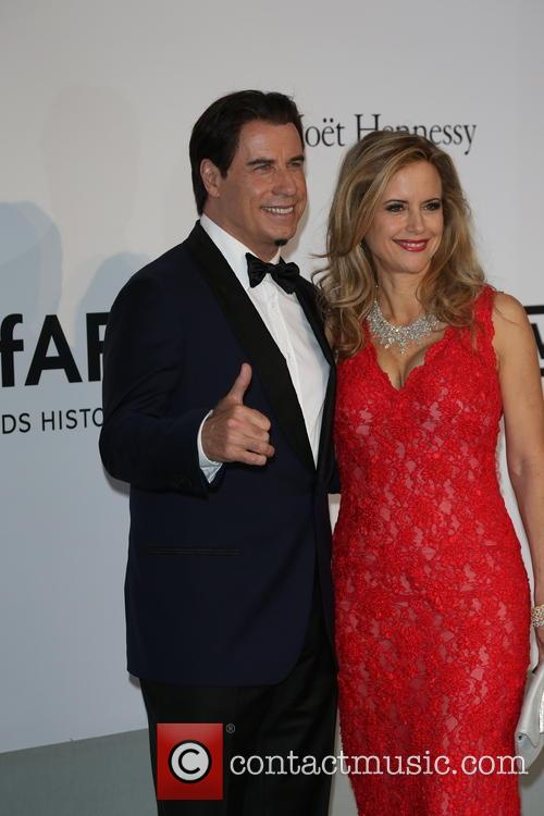 John Travolta and Wife Kelly Preston 8
