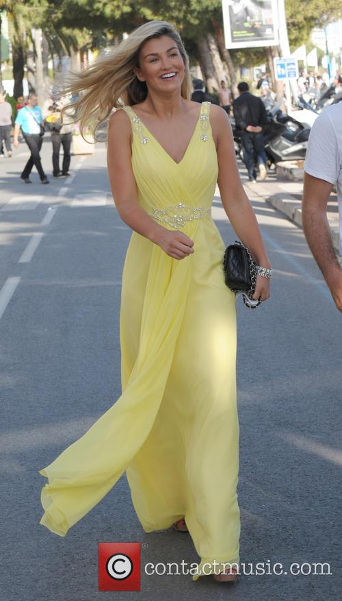 Amy Willerton out and about in Cannes