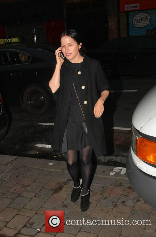 Andrea Corr among celebrities spotted at Opium on...