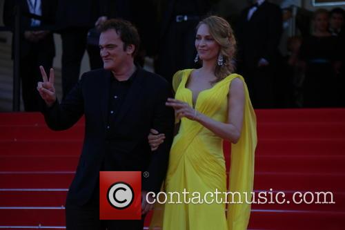 Quentin Tarantino and Uma Thurman 3