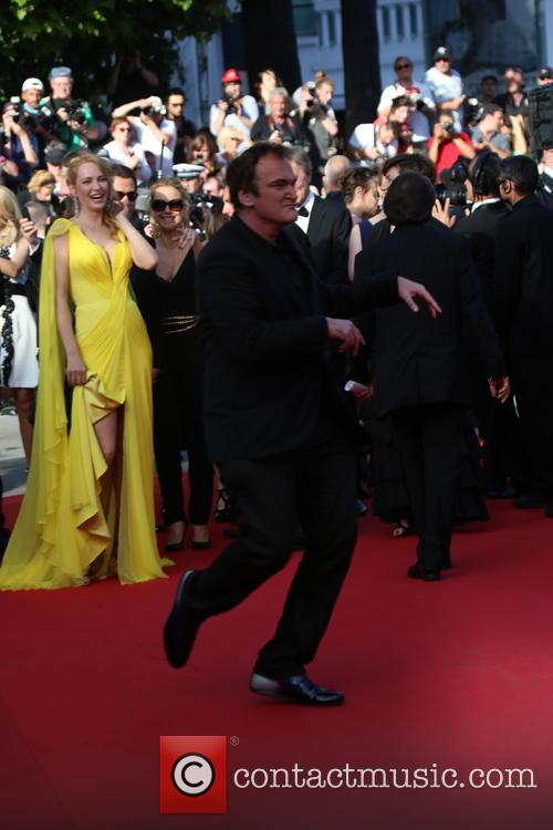 Quentin Tarantino and Uma Thurman 5