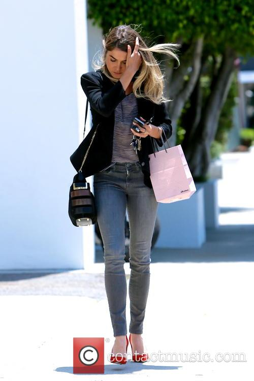 Nikki Reed spotted leaving Andy LeCompte Salon